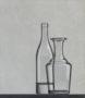 De Stijl Glaswerk, olieverf/paneel, 38 X 33 cm,